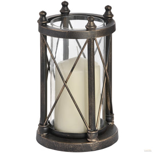 Nautical Antique Bronze Candle Holder - LUXE Home Interiors