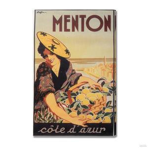 Lemons From Menton Post Card Canvas