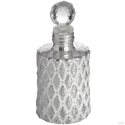 Antique Silver Scent Bottle - LUXE Home Interiors