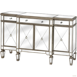 The Belfry Collection Mirrored Sideboard - LUXE Home Interiors