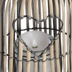 Standing Lantern with Heart Detailing - LUXE Home Interiors