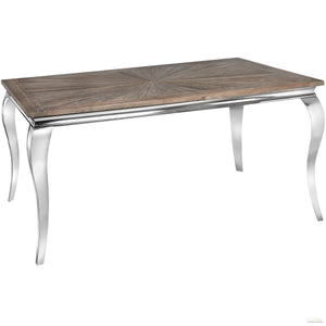 Mayfair Collection Reclaimed Elm Dining Table - LUXE Home Interiors
