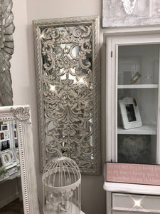 Baroque Mirror With Ornate Front Detail - LUXE Home Interiors