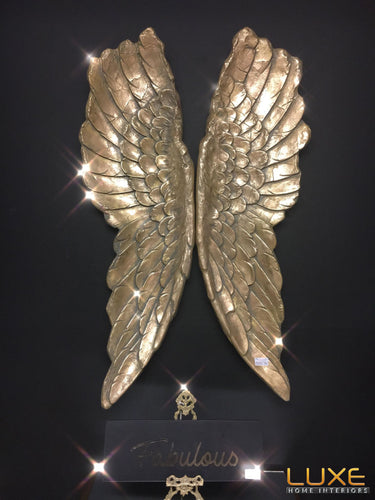 Gold Large Angel Wings