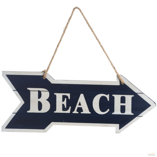 This Way To The Beach Sign (double sided)