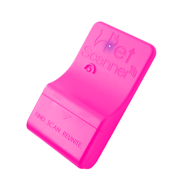 LIMITED EDITION - Luminous Pink Bluetooth PetScanner (iOS & Android)