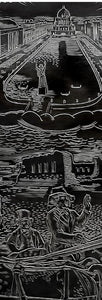 """Dreams of Chicago After the Fire"" print - Edgar Miller"