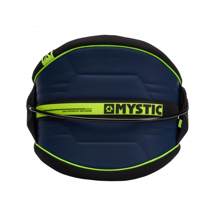 2019 Mystic Arch Waist Harness Navy/Lime