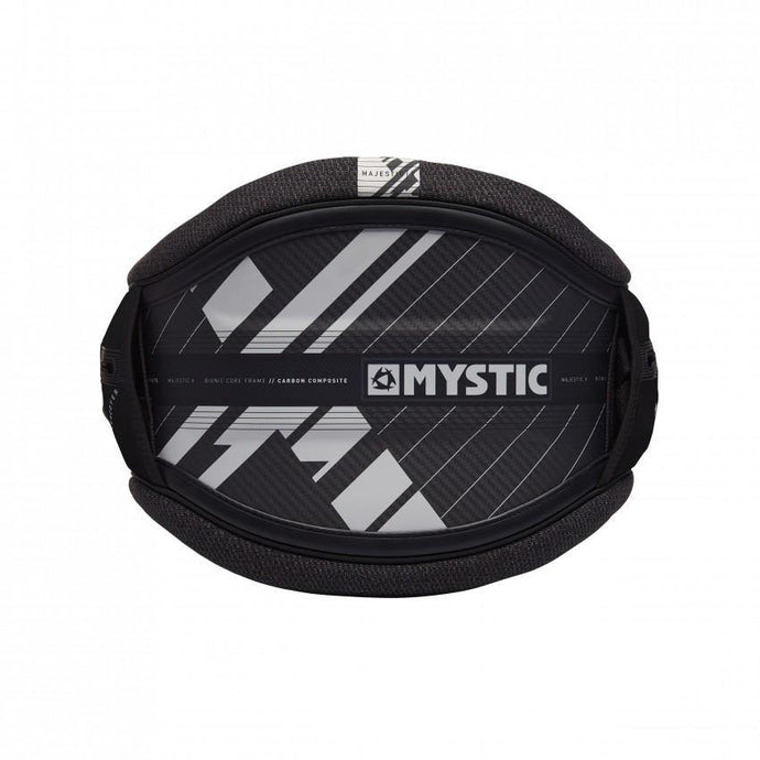 Mystic Majestic X Waist Harness Black/White - OceanAir Sports