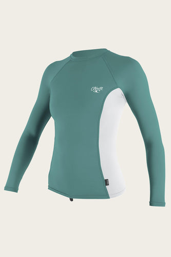 Wms Premium L/S Rash Guard - OceanAir Sports