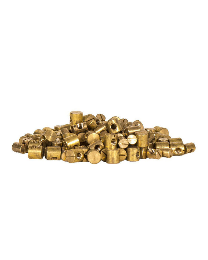 Brass Insert for fin screw 1/4-20