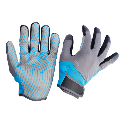2019 Ion Amara Gloves Full Finger - Blue/Grey