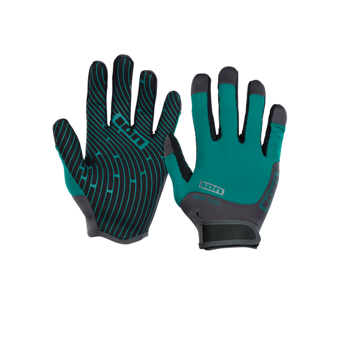 2019 Ion Amara Gloves Full Finger - Emerald/Marine
