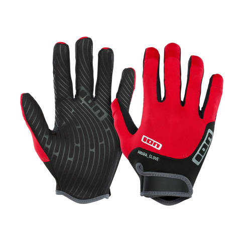 2019 Ion Amara Gloves Full Finger - Red