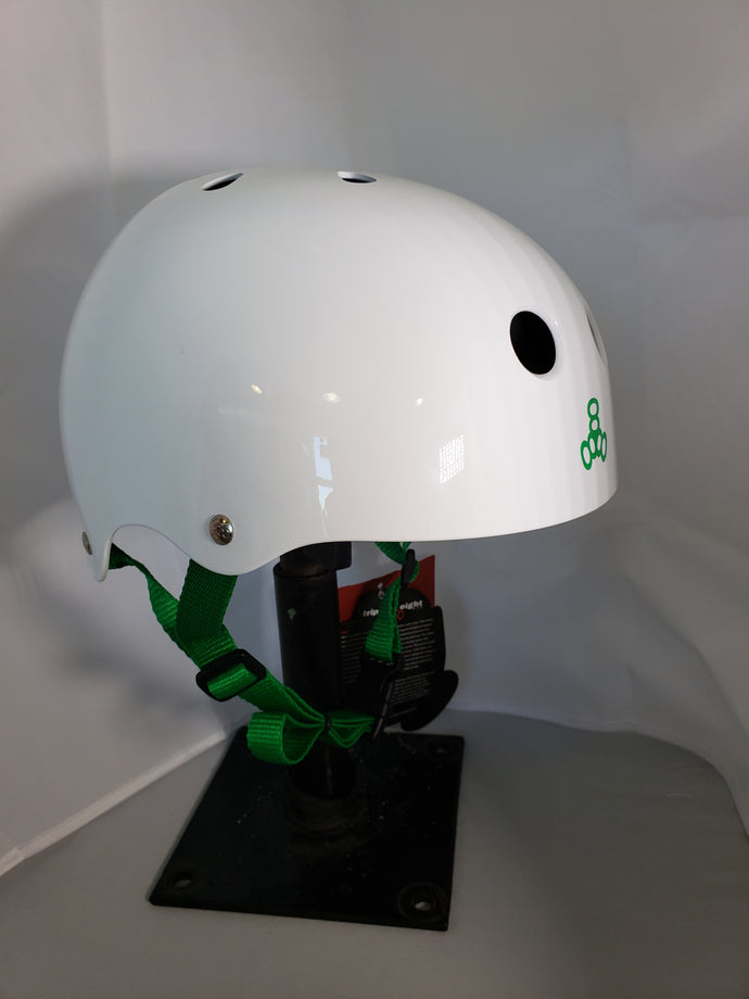 Triple Eight Halo Helmet White