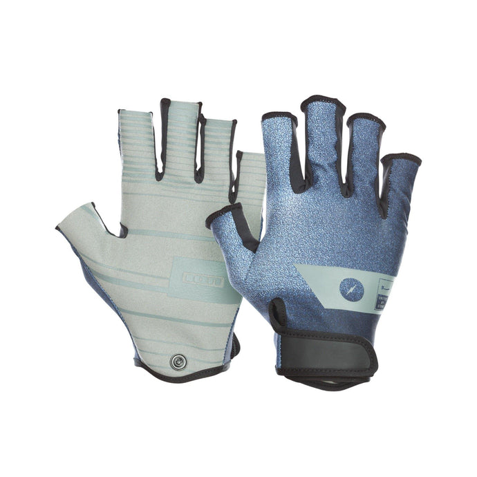 2020 Ion Amara Gloves Half Finger - Dark Blue - OceanAir Sports