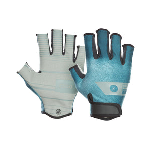 2020 Ion Amara Gloves Half Finger - Teal