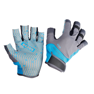 Ion Amara Gloves Half Finger - Blue/Grey