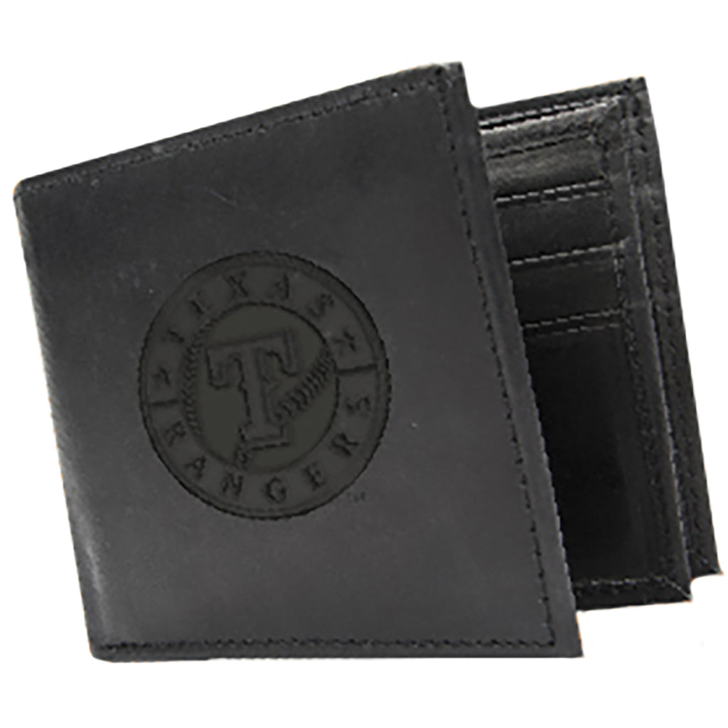 Texas Rangers Leather Wallet