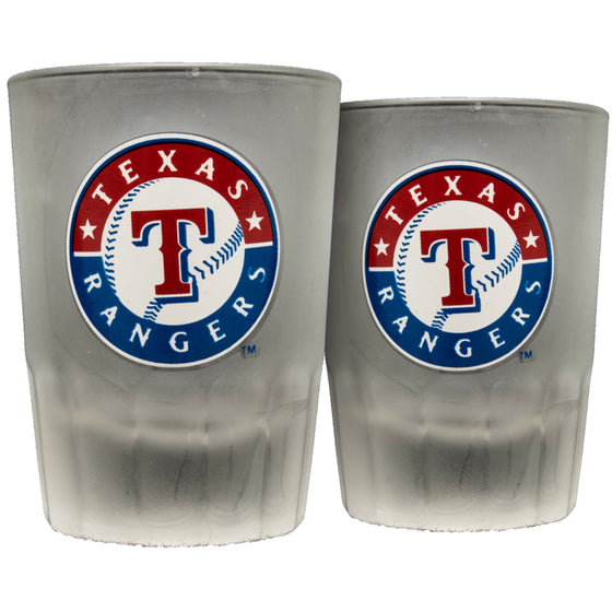 Texas Rangers Shot Glasses