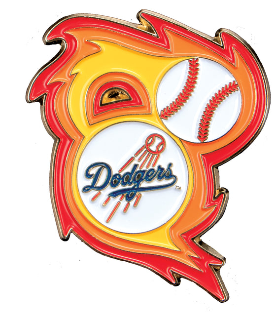 Los Angeles Dodgers 'Bring the Heat' Collectible Pin