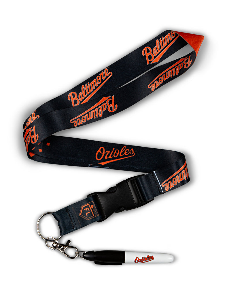 Baltimore Orioles Signing Marker with Lanyard