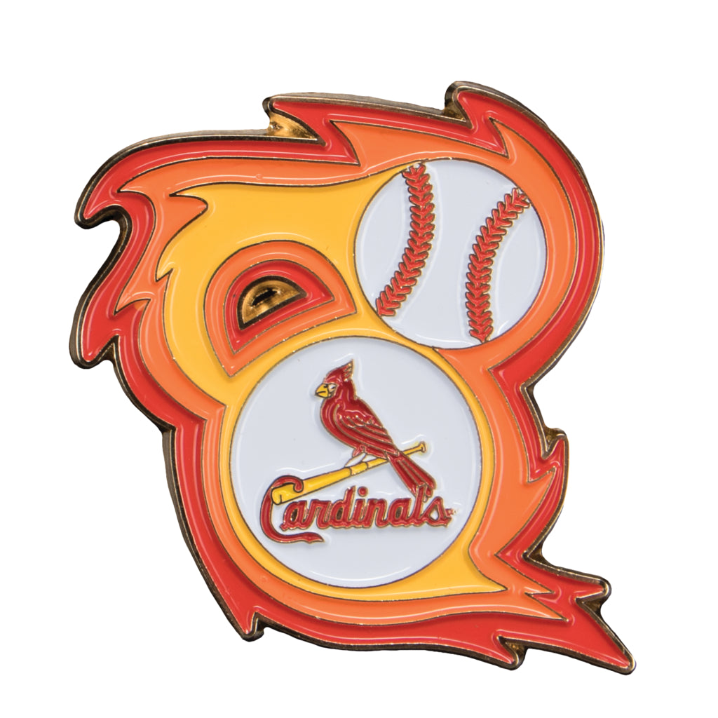 St Louis Cardinals Bring The Heat Collectible Pin Sports Crate