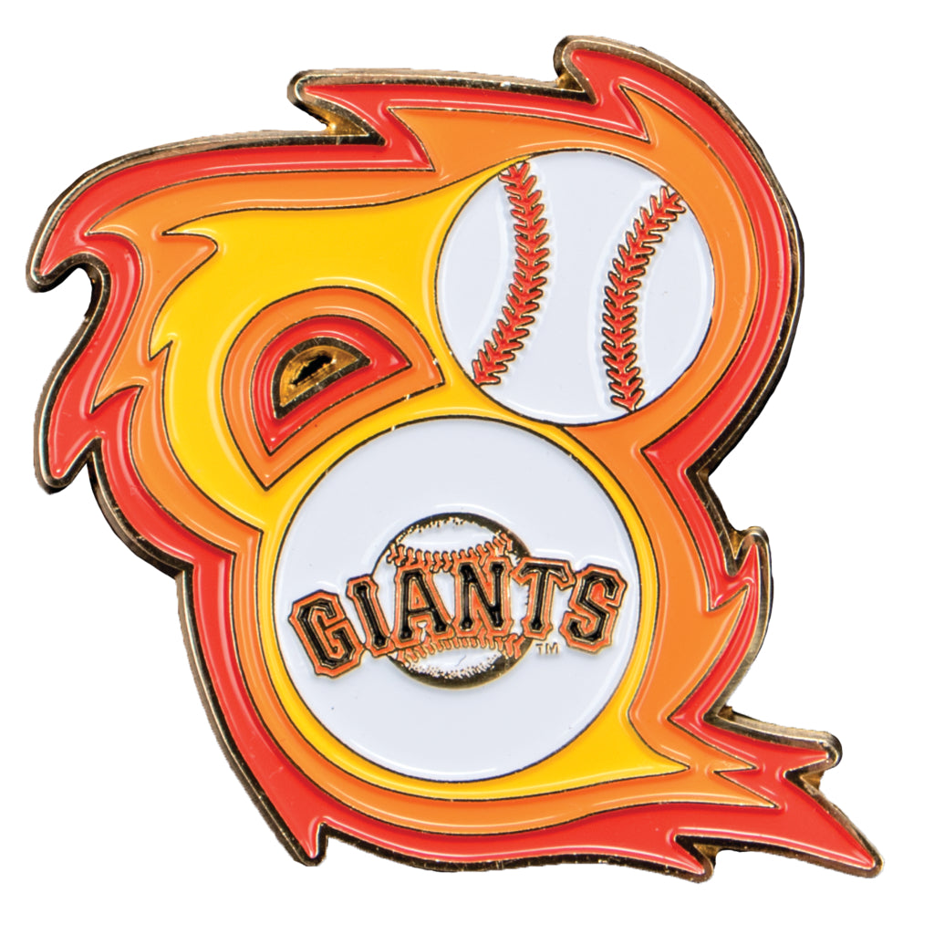San Francisco Giants 'Bring the Heat' Collectible Pin
