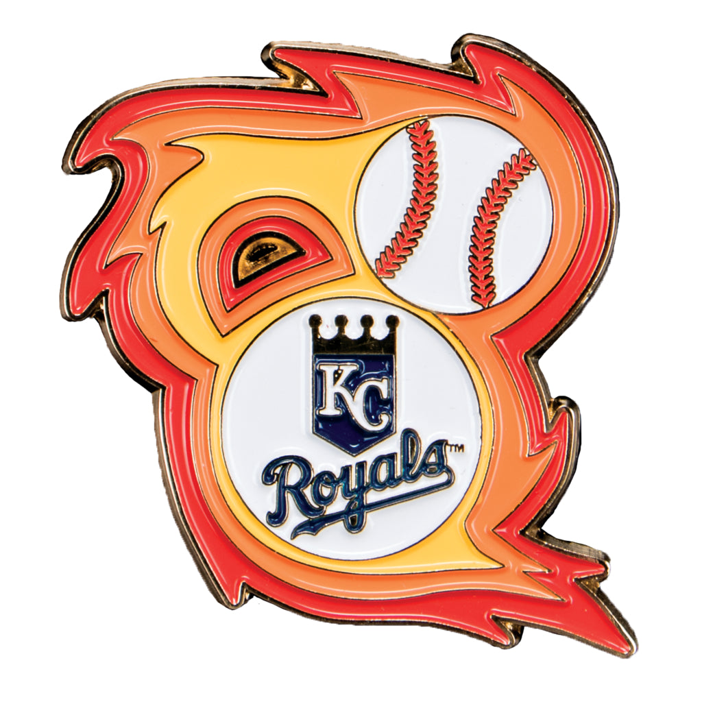 Kansas City Royals 'Bring the Heat' Collectible Pin