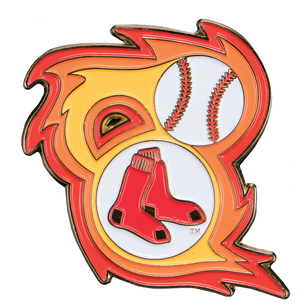Boston Red Sox Bring The Heat Collectible Pin Sports Crate Vault