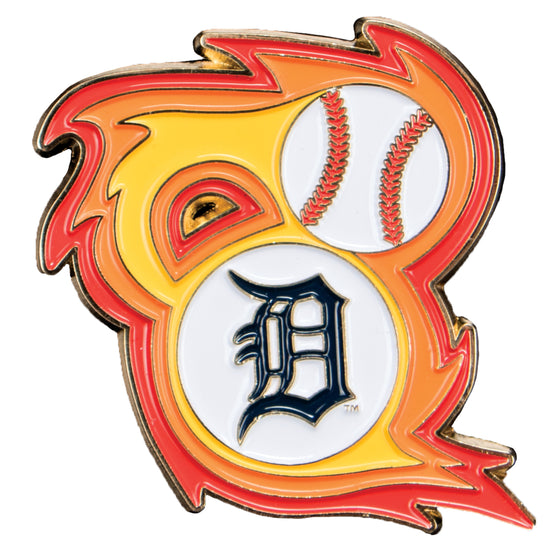 Detroit Tigers 'Bring the Heat' Collectible Pin