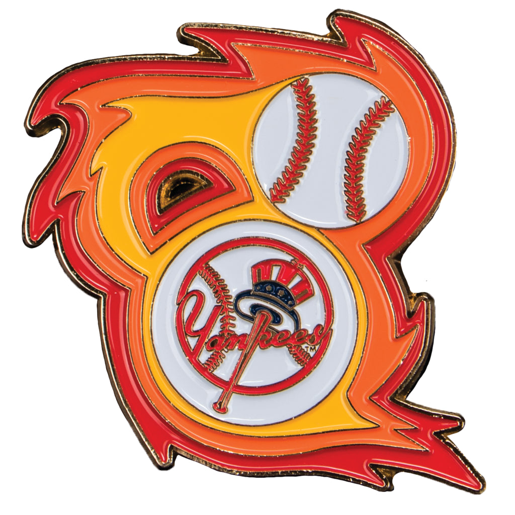 New York Yankees 'Bring the Heat' Collectible Pin