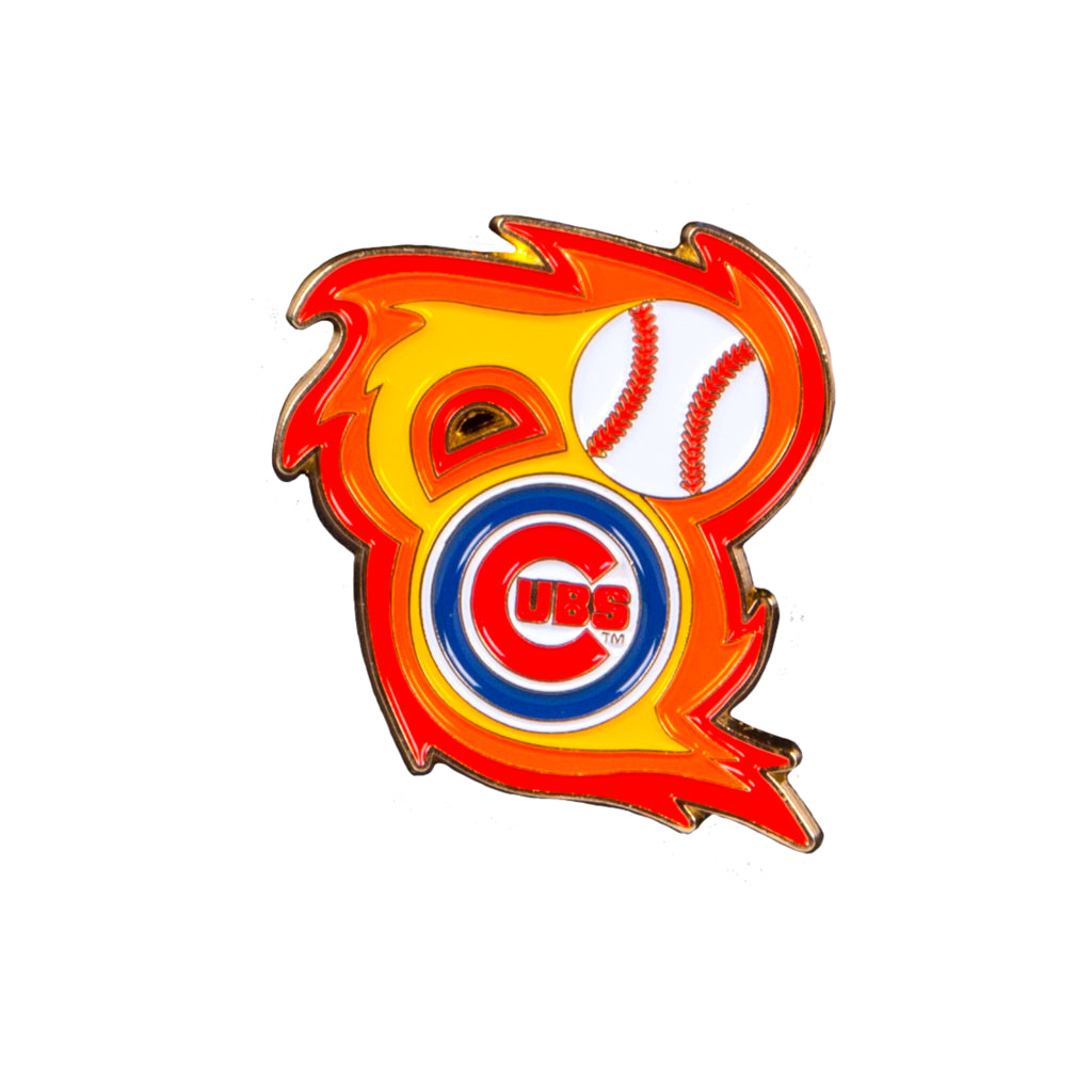Chicago Cubs 'Bring the Heat' Collectible Pin