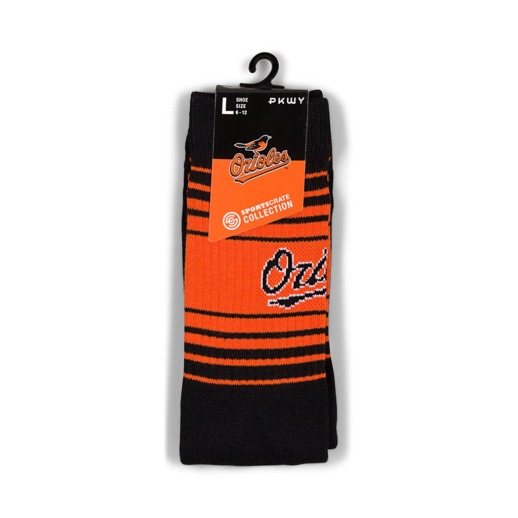 PKWY Baltimore Orioles Socks