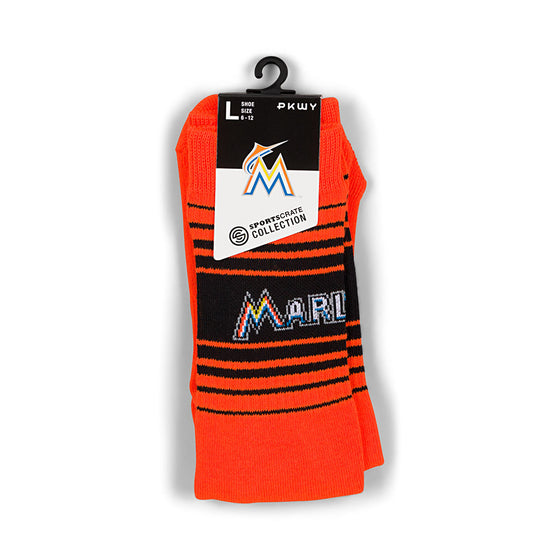 Miami Marlins PKWY Socks