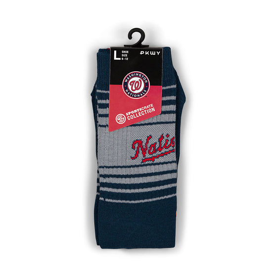Washington Nationals PKWY Socks