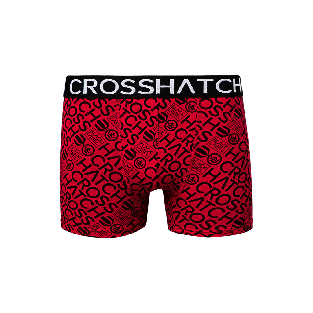 Wyse Boxers 3pk Red/Black