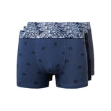 Goris Boxers 3pk Navy Mix