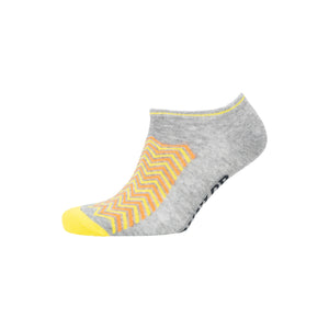 Ladies Cheveon Trainer Socks 3pk - Assorted