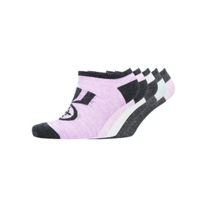 Ladies Lushed Trainer Socks 5pk - Assorted