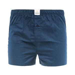 Checkrow Woven Boxers 3pk - Dress Blues Check