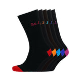 Baler Socks 5pk - Black