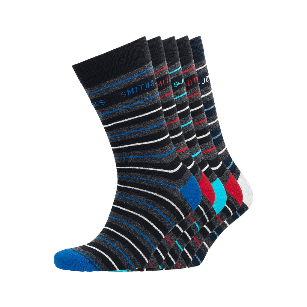 Ockey Socks 5pk - Assorted