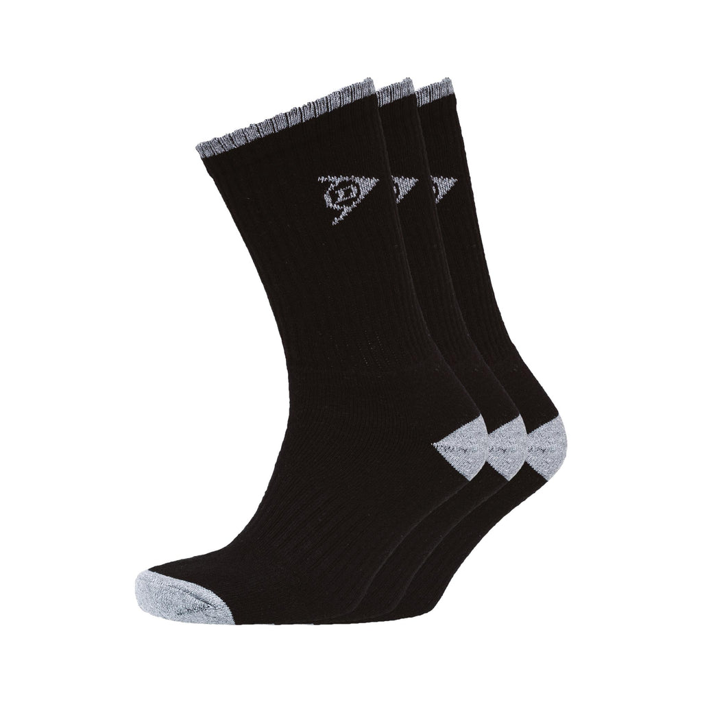 Shawlong Sports Socks 3pk - Black