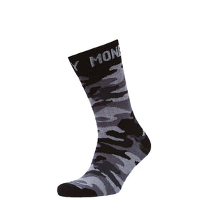 Foliage Socks 3pk - Black/Camo