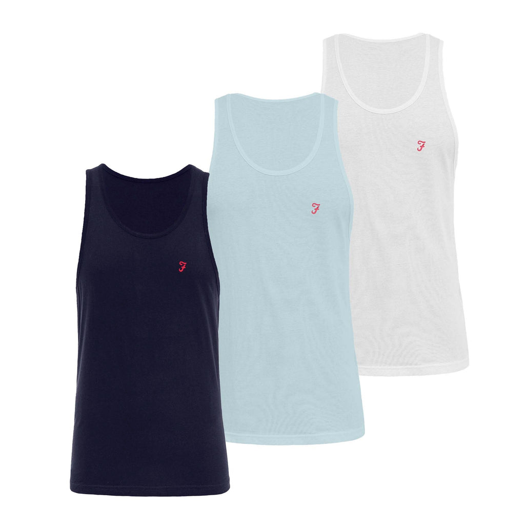 Vestire Lounge Vests 3pk - Assorted