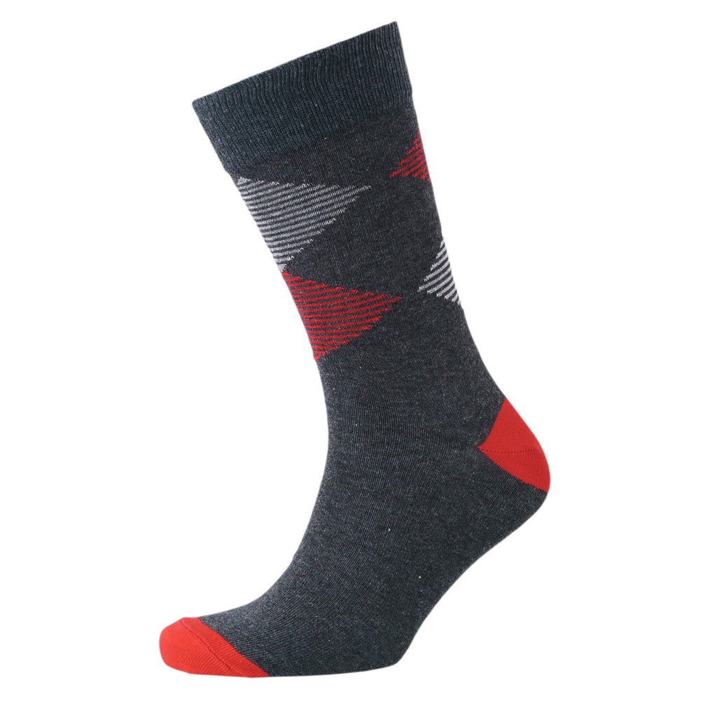 Sig Line Socks 3pk - Black Assorted