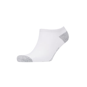 Sticklebarn Trainer Socks 5pk - White