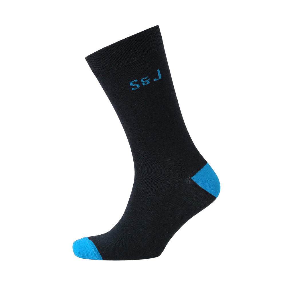 Balerno Socks 7pk - Black Assorted