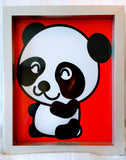 High Contrast Baby Art| Nursery Wall Art| Infant Visual Stimulation| Panda - Baby See See